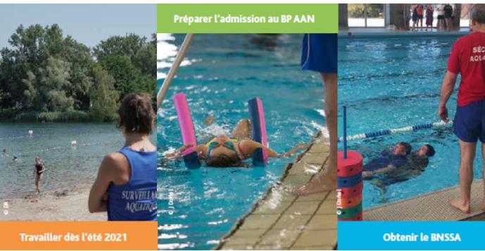 Préparation aux métiers de la natation : les inscriptions sont ouvertes