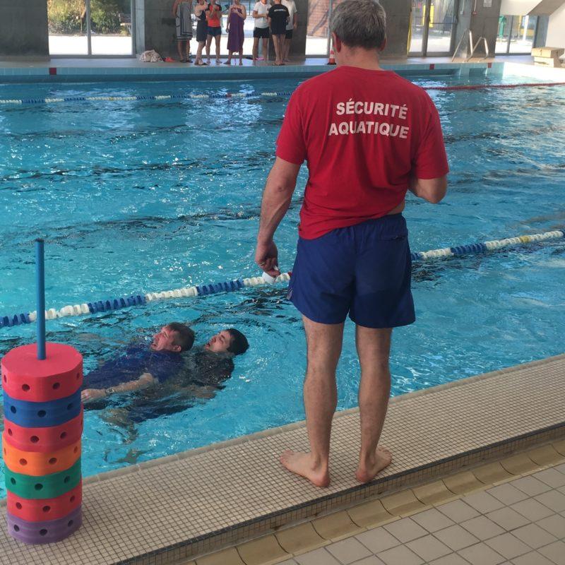 Préparation aux métiers de la natation